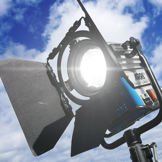 Arri video spotlight
